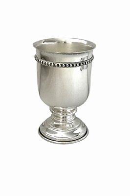 Vaso de Prata Friso Bolinhas