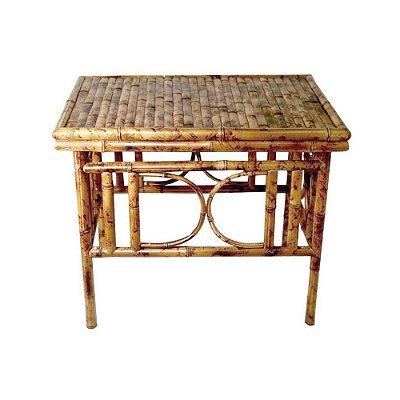 Mesinha lateral de bambu