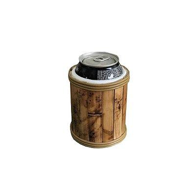 Porta Latas de Bambu