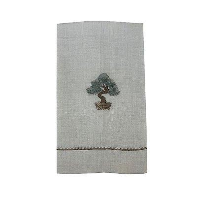 Toalha Lavabo Bonsai