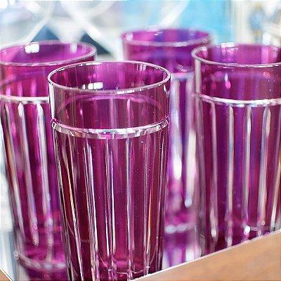 Copo Cristal Polonês Bordeaux