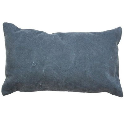 Capa de Almofada Azul Estonada 28x38 cm (rim)
