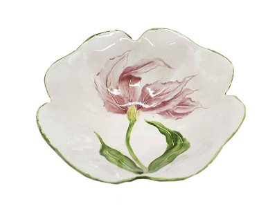 Bowl desenho tulipa rosa Zanatta Casa