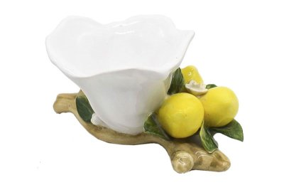 Porta adoçante cerâmica limão siciliano Zanatta Casa