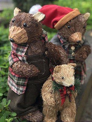 Família de Ursos de Natal