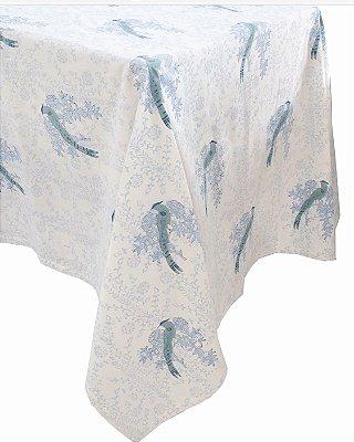 Toalha de Mesa Blue Birds 3,5m