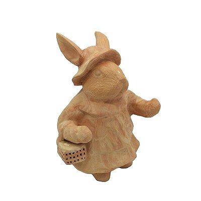 Coelha Terracota Cesta