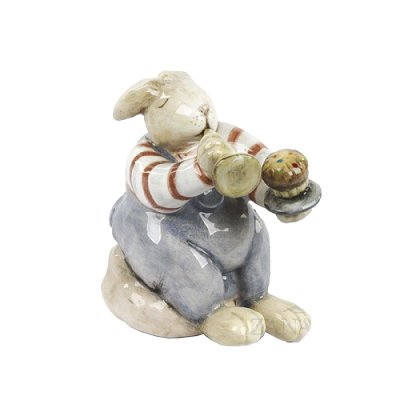 Mini Coelho Doces de cerâmica Zanatta Casa