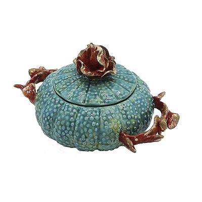 Bowl Ouriço Acqua e Coral Zanatta Casa