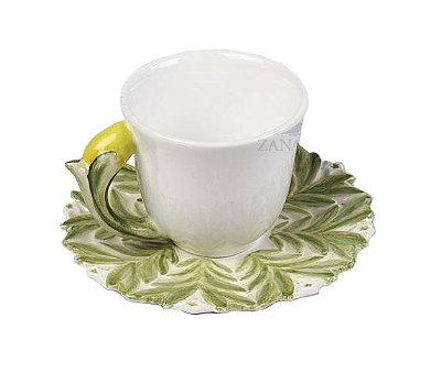 Xícara de Café Limão Siciliano (cj com 2)