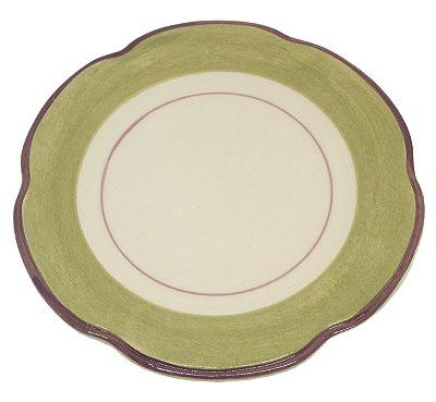 Prato Sobremesa Verde Punta