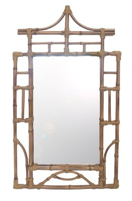 Espelho de Bambu