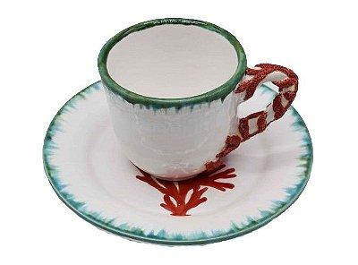 Xícara de Chá Coral Zanatta Casa