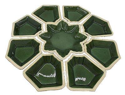 Petisqueira Verde Casual