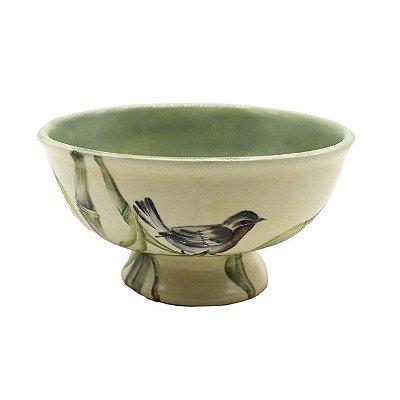 Bowl Bambu com Passarinho Zanatta Casa