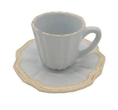 Xícara de Café Azul Claro