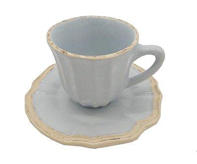 Xícara de chá Azul Claro