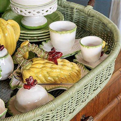 Xícara de Café de Bananeira (cj 2)