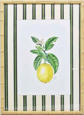 Quadro Limão Siciliano 3 Zanatta Casa