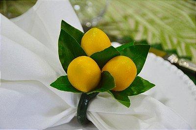 Porta Guardanapo Limão Siciliano (cj 4)