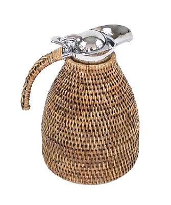Garrafa Térmica Rattan 1,2 litro