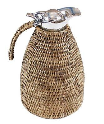 Garrafa térmica Rattan 1,5 litro