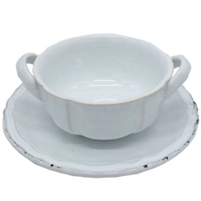 Bowl para Consommé Branco