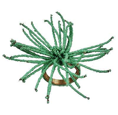 Porta guardanapo coral verde celadon (jogo com 4)