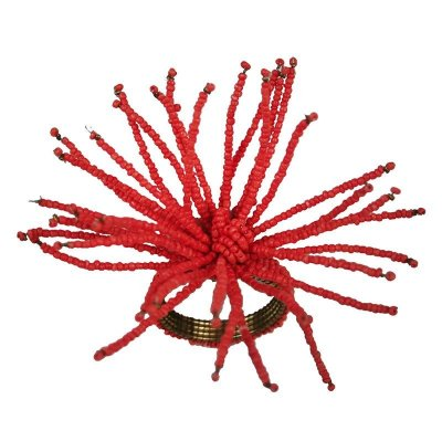 Porta guardanapo coral (caixa com 4 )