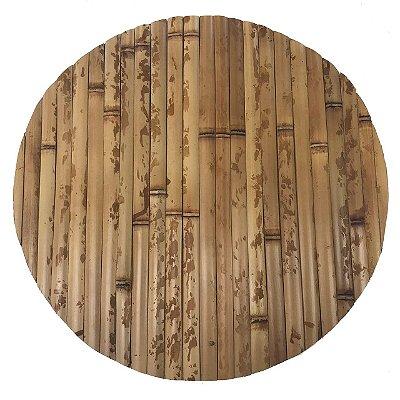 Sousplat de bambu