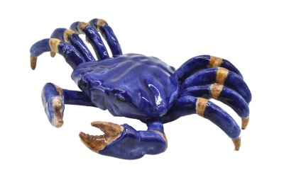 Caranguejo de mesa azul G AZUL Zanatta Casa