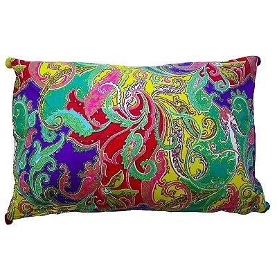 Almofada cashmere colorida (rim)