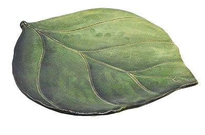 Prato raso folha de limão Zanatta Casa (cj com 4)