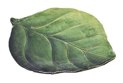 Prato sobremesa folha de limão Zanatta Casa (cj c 4)