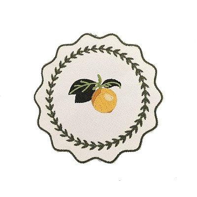 Porta copos limão siciliano (set com 6)