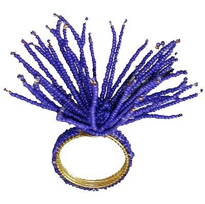 Porta guardanapo coral azul carbono (jogo com 4)