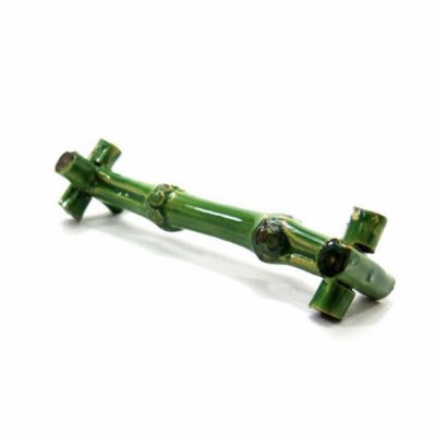 Descanso de talher bambu verde (cj 2)