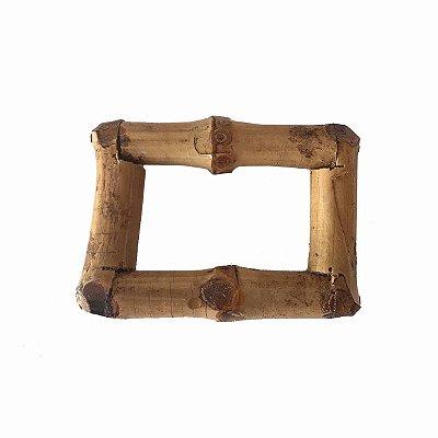 Porta guardanapo retangular bambu (cj 2)