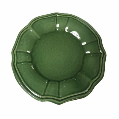 Prato sobremesa casual verde escuro Zanatta Casa