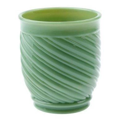 Copo milk glass verde