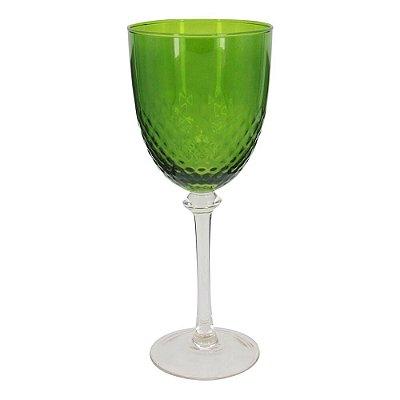 Taça verde vinho tinto (jogo 6)