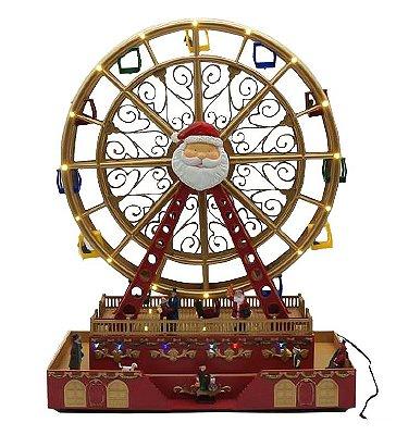 Roda gigante de natal