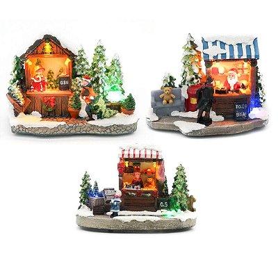 Trio lojinhas de Natal