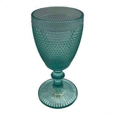 Taça bico de jaca verde (cj com 6)