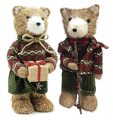 Casal de Ursos de Natal