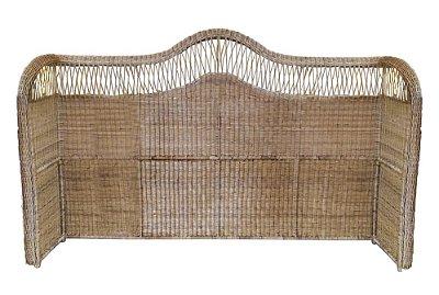 Cabeceira de junco cama King
