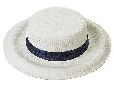 Chapéu com fita azul Zanatta Casa