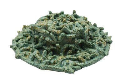 Chapéu de coral verde azulado Zanatta Casa