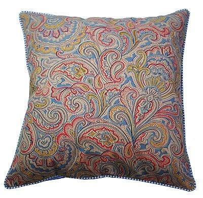 Capa de Almofada Kashmir multicolorido