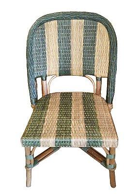 Cadeira de apuí listras verdes